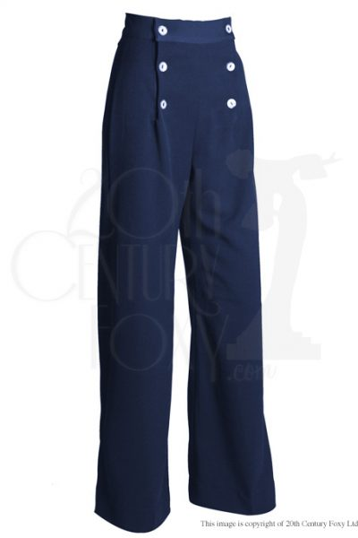 1930s Sailor Pants