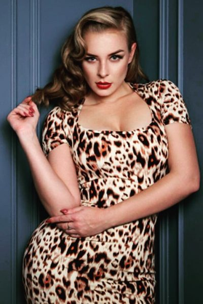 Zoe vine leopard shift