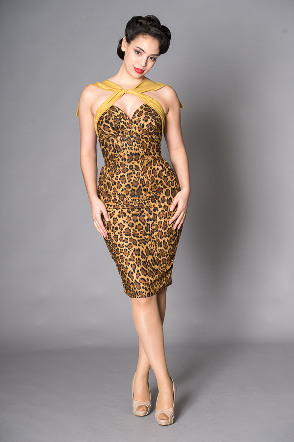sissy leopard and gold
