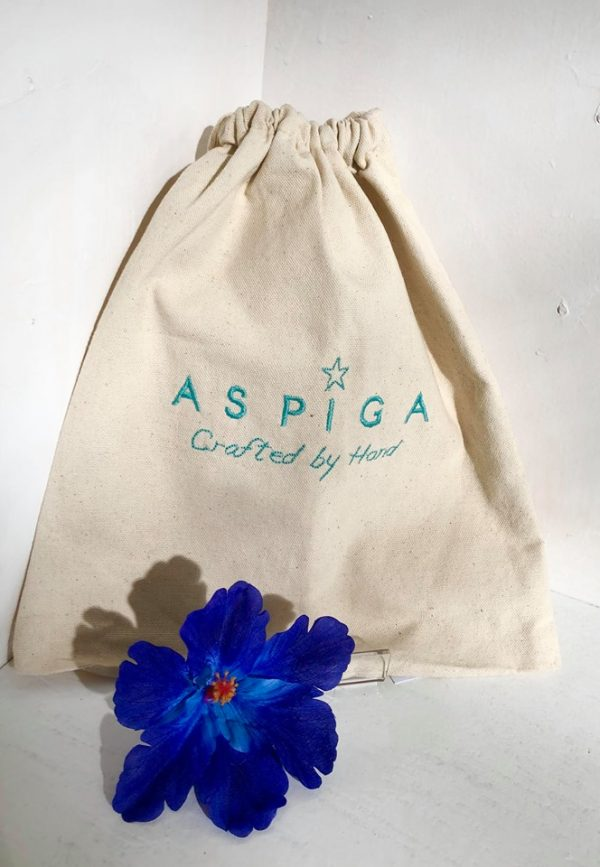aspiga hessian carry bag