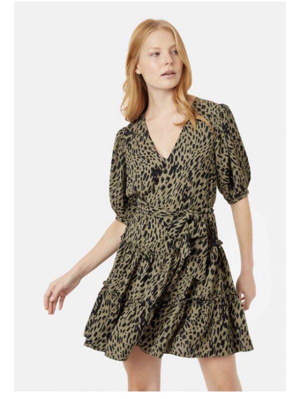 sage smock dress