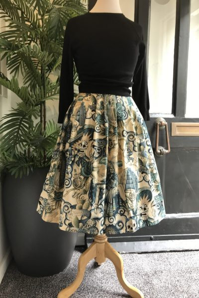Retro Egyptian skirt