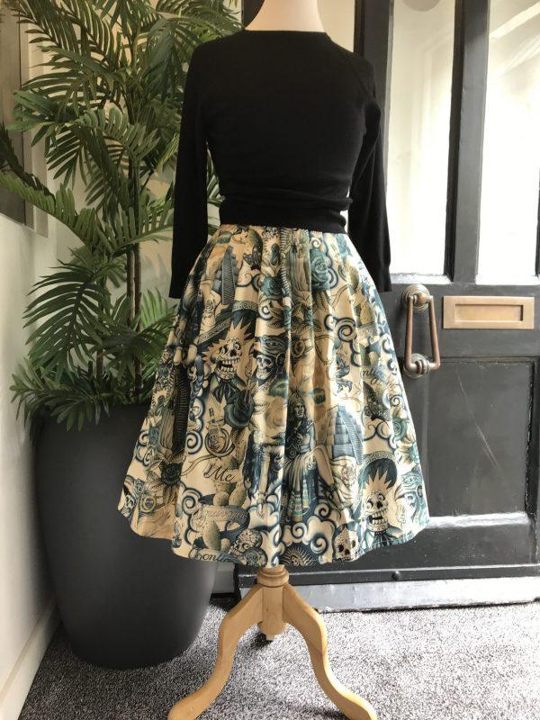 Retro Egyptian skirt