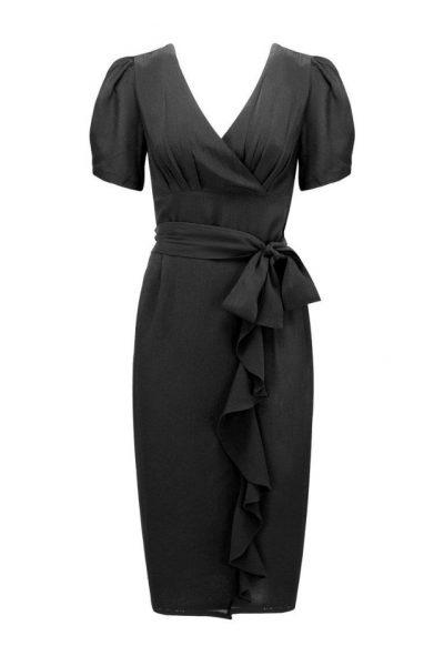 black lillian dress