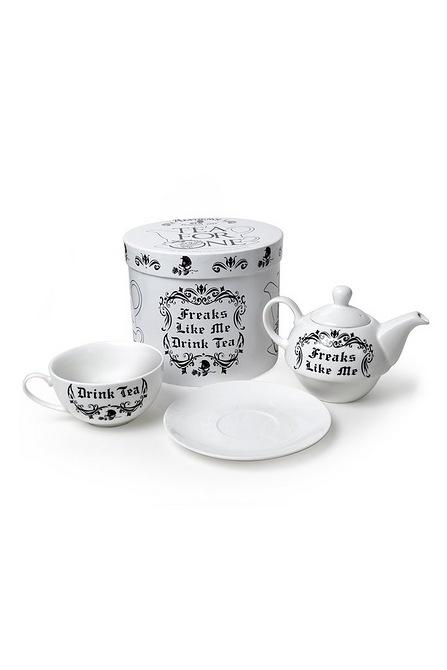 freaks like me drink tea gift set