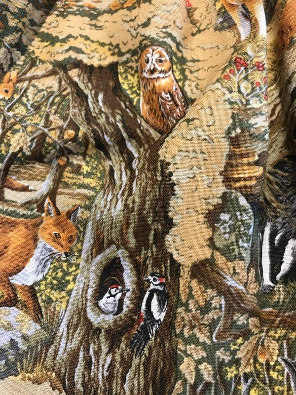 woodland autumn animals
