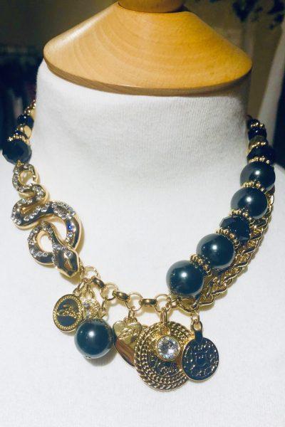 serpent necklace