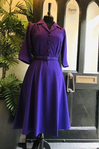 mabel dress in purple
