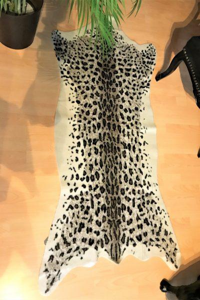 Faux Leopard Rug