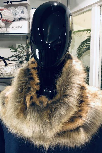 leopard snood
