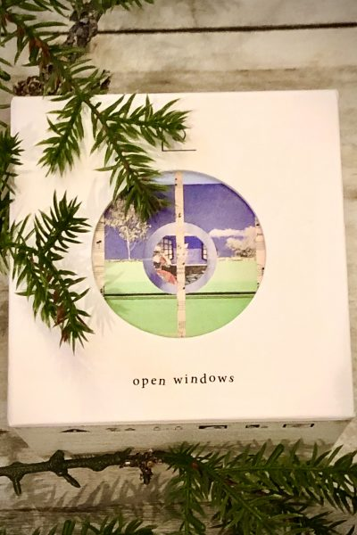 open window candle