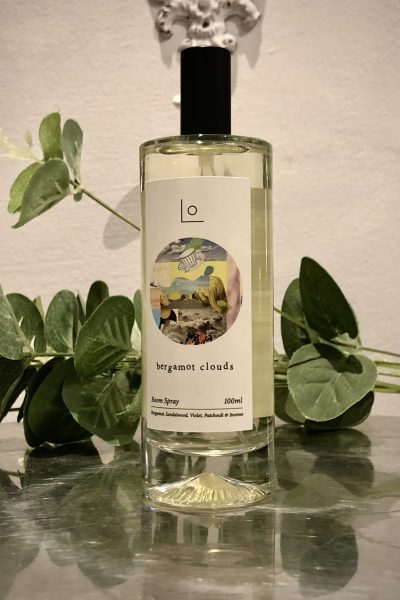 bergamot clouds room spray
