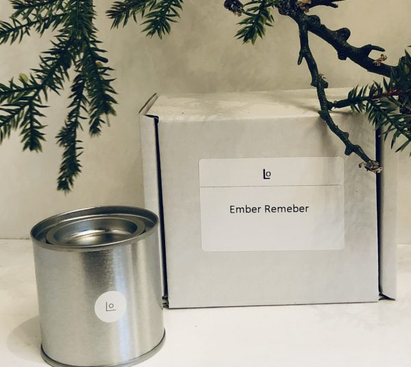 Ember Remember travel candle