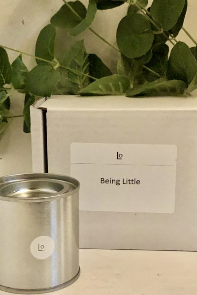 Being Little travel candle