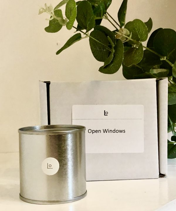 open windows travel candle
