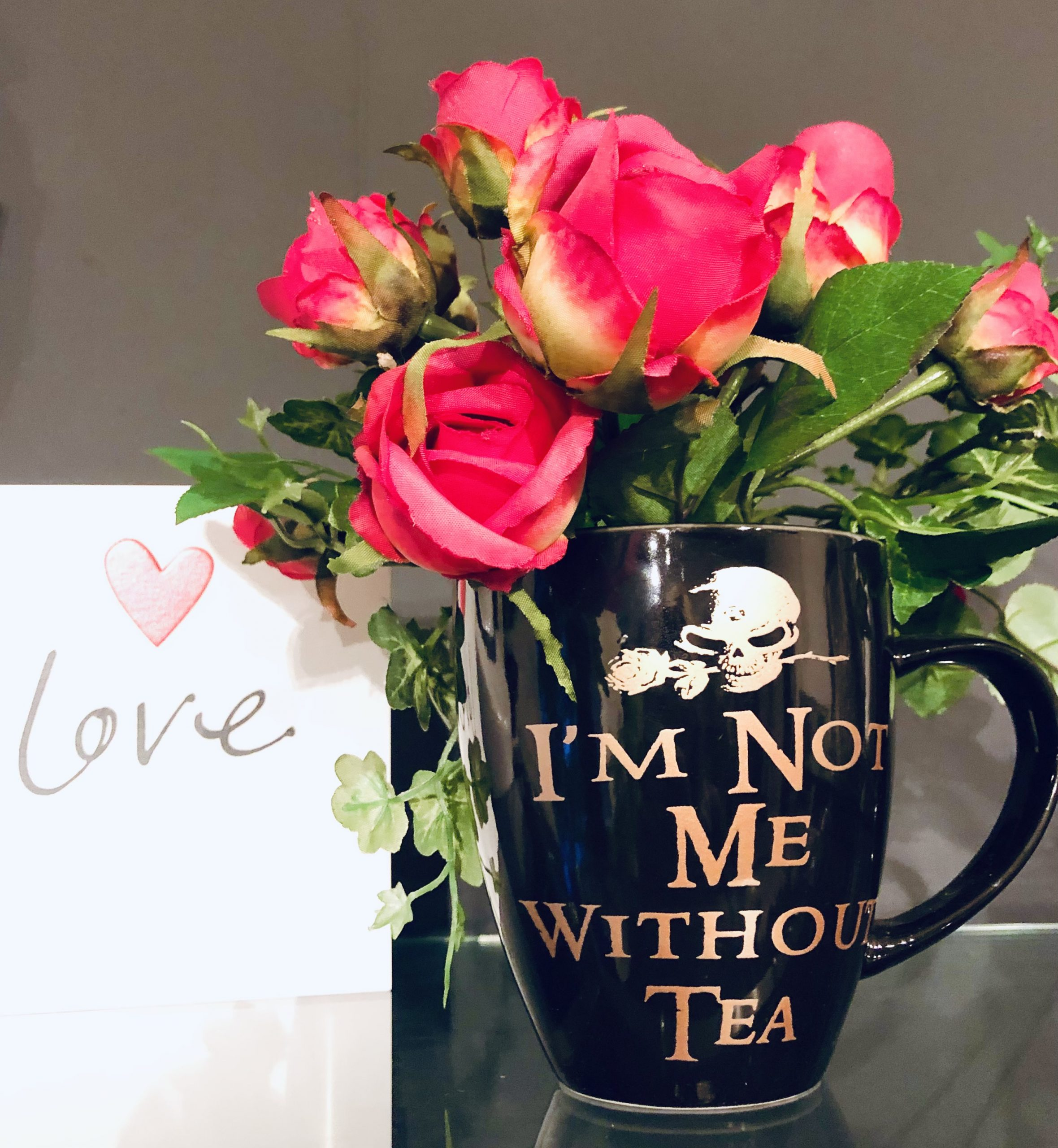 not me without tea