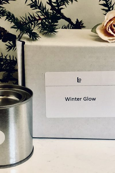 Winter Glow travel candle