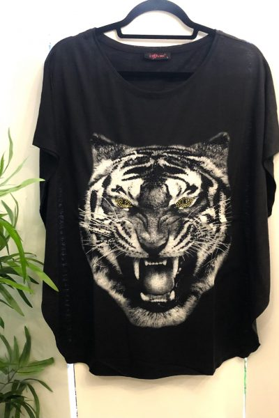tiger balloon t-shirt