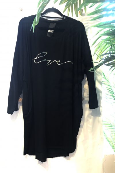 black long love top