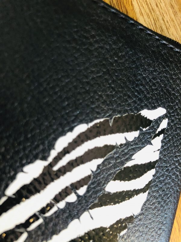 zebra lips coin purse