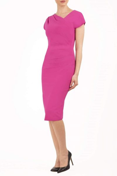 fuscia pink front