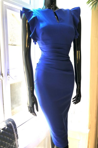 cobalt blue diva dress