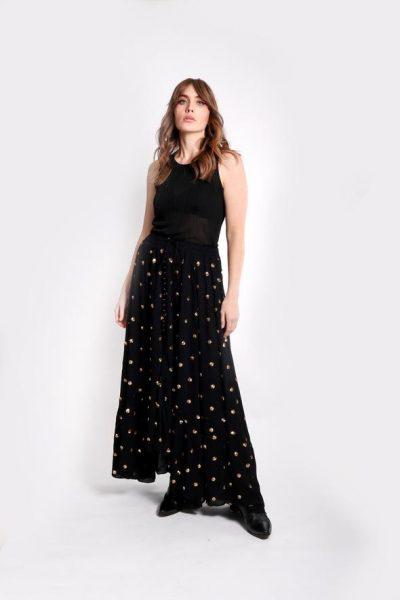 The Beathless Waves maxi skirt