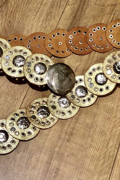 gold circle belt
