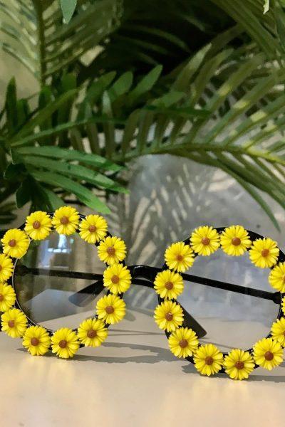 daisy retro glasses