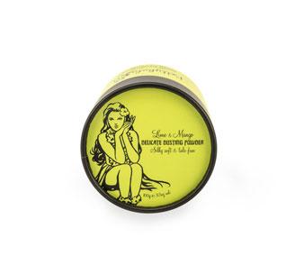 Betty Hula lime and mango dusting powder